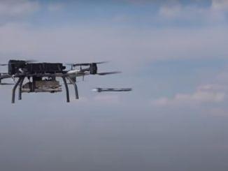 mini-racheta ghidată cu laser a lui Rocketsanin a fost lansată