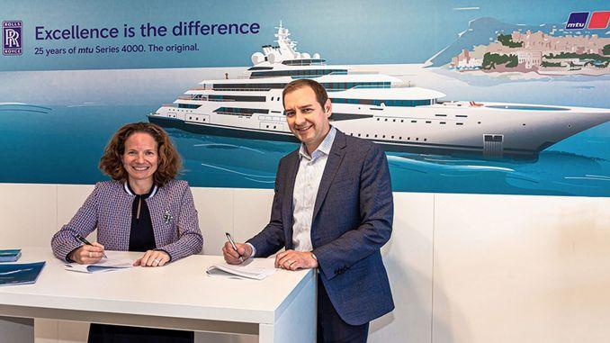 Сотрудничество Rolls Royce и Sea Machines