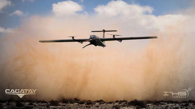 عرضت أنظمة الطائرات بدون طيار المحلية uavera cagatay و cengaveri