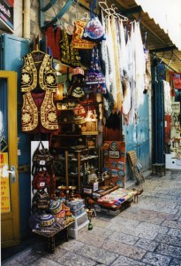 Storefront in the Souq