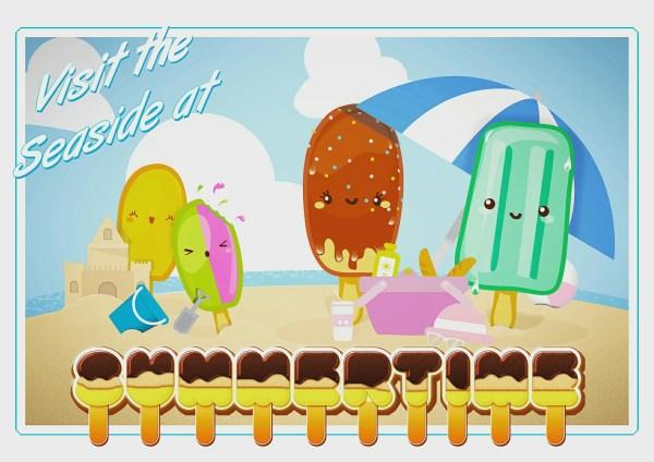 Ice cream poster 2