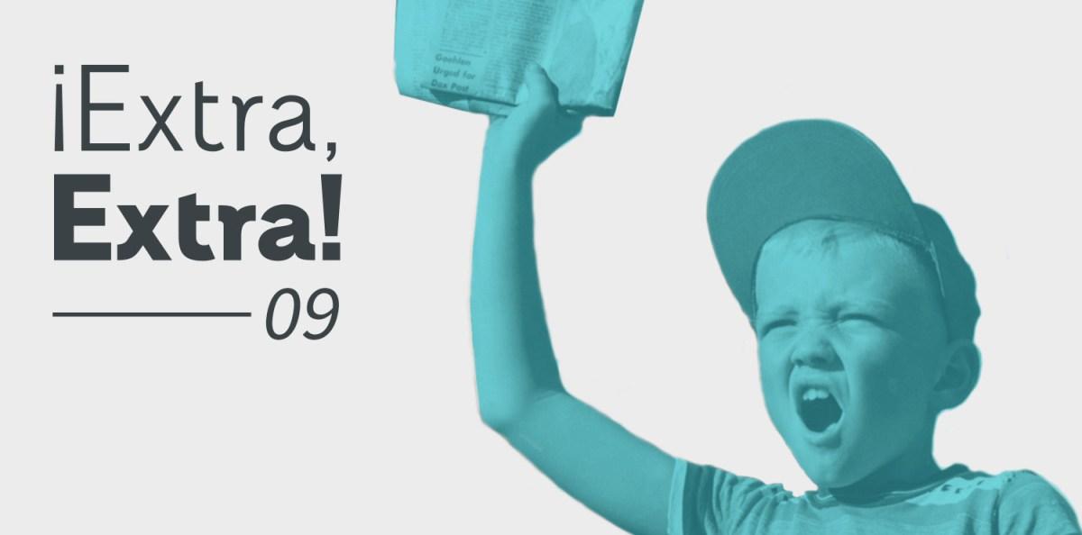 Extra Extra 09 Rayitas Azules