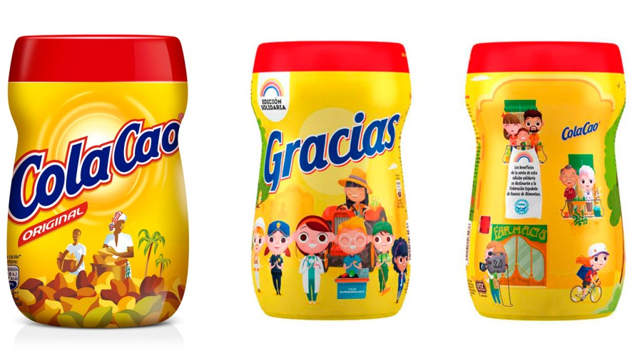 cambio en el packaging de ColaCao