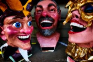 Mardi Gras masks.