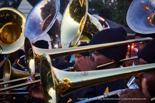 Lots of brass.