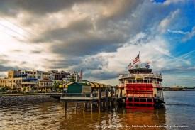 Steamboat Natchez on the Mississippi River.