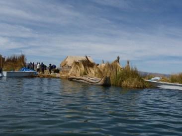 Schilfinsel der Uro-Indianer