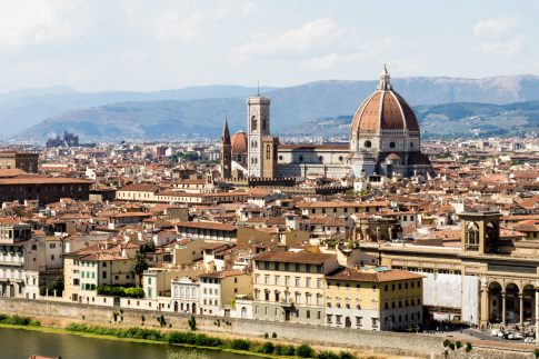 Florence, from Piazzale Michelangelo