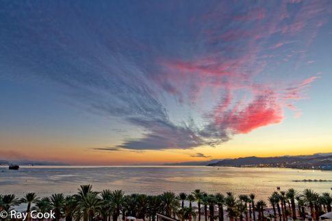 Sunset Eilat, Israel
