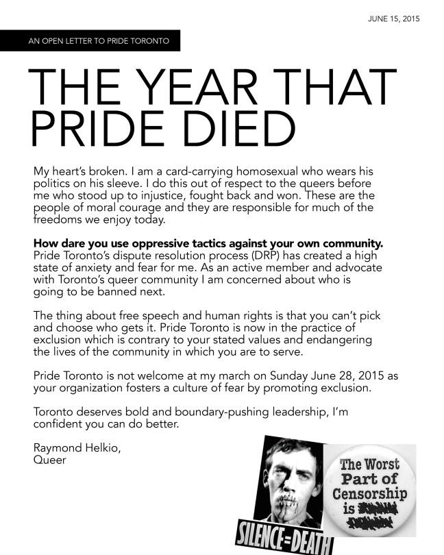 Pride 2015 Poster