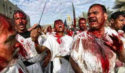 Muslim self-mutilation during Ashura