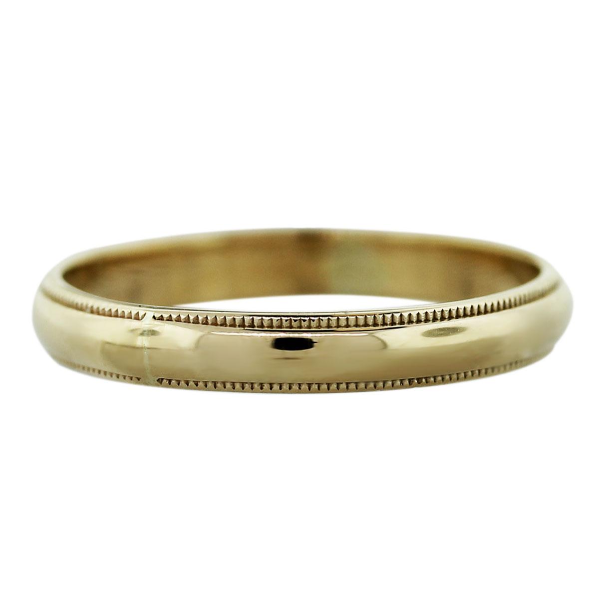 14k Yellow Gold 16dwt Mens Wedding Band Ring Boca Raton