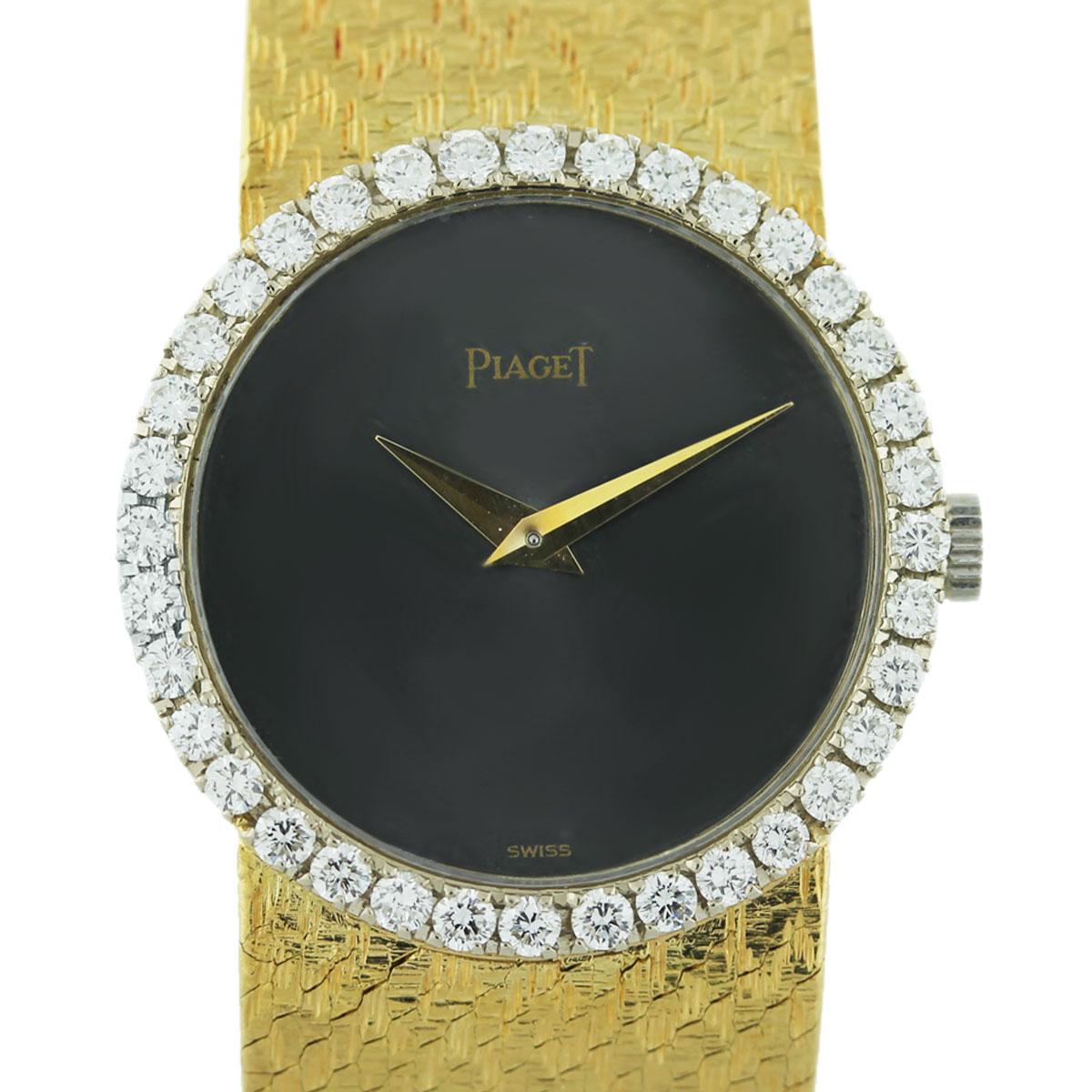 Piaget Vintage Diamond 18k Yellow Gold Ladies Watch Boca Raton