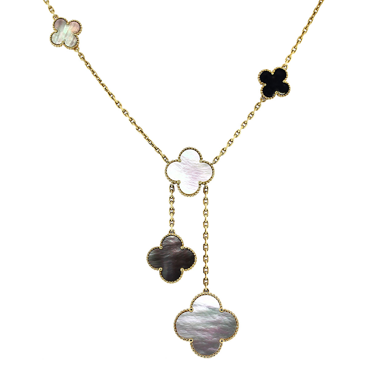Van Cleef Amp Arpels Magic Alhambra Necklace With Pendant