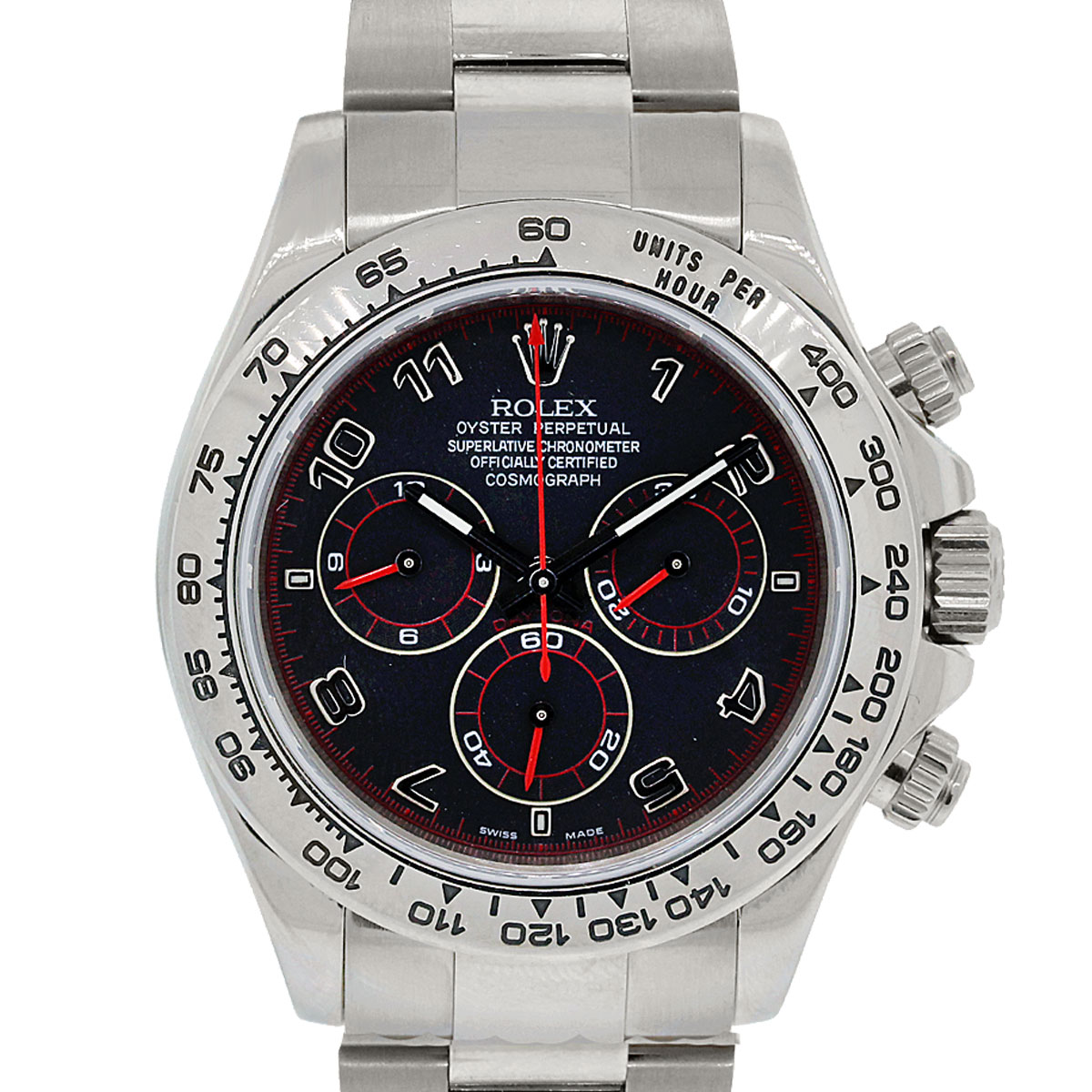 Rolex 116509 Daytona Cosmograph Black And Red Dial