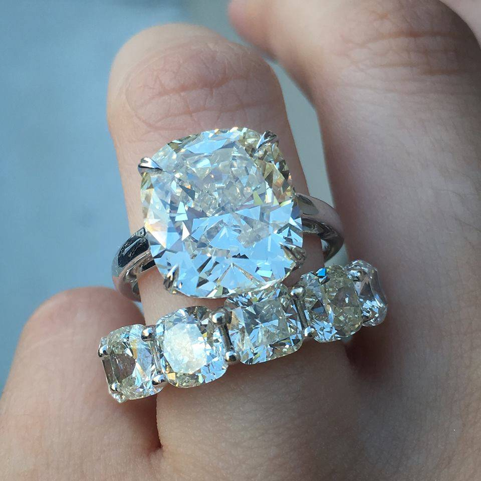 BIG Engagement Rings Raymond Lee Jewelers