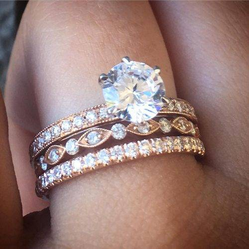 Best Wedding Ring Stack Ideas For Summer Raymond Lee