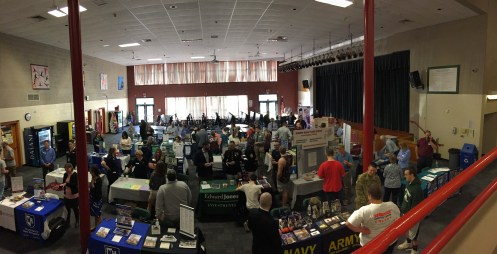 College Fair, OK, used 4.17.17