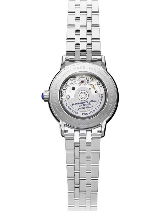 Maestro Ladies Automatic Moon phase Mother-of-Pearl Diamond Watch, 34mm