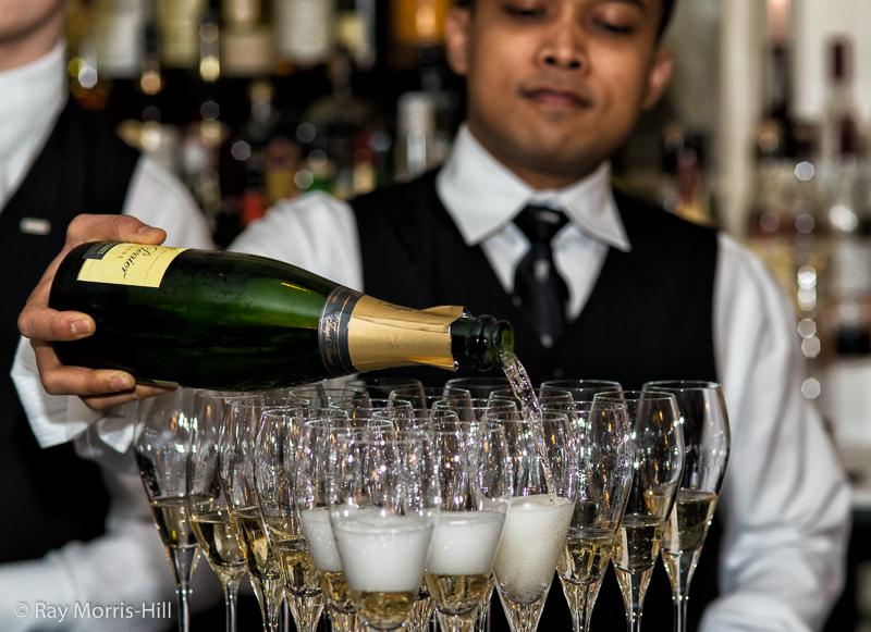 A Champagne Reception