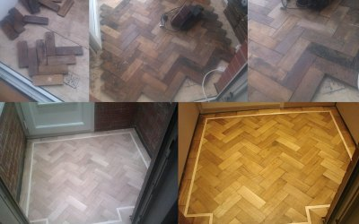 A Parquet Floor & Inlay