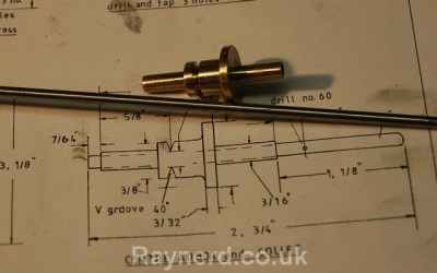 Gearless Clock – Pin Wheel Collet/Arbour