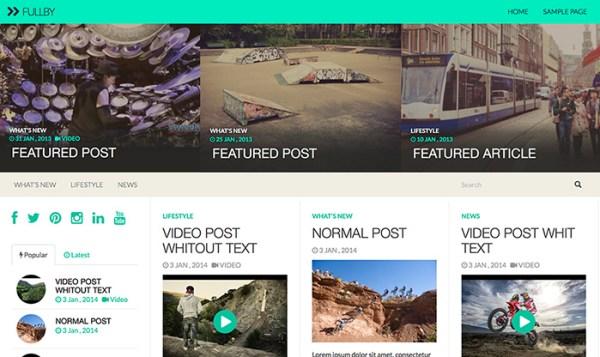 fullby-Theme-Wordpress-cho video