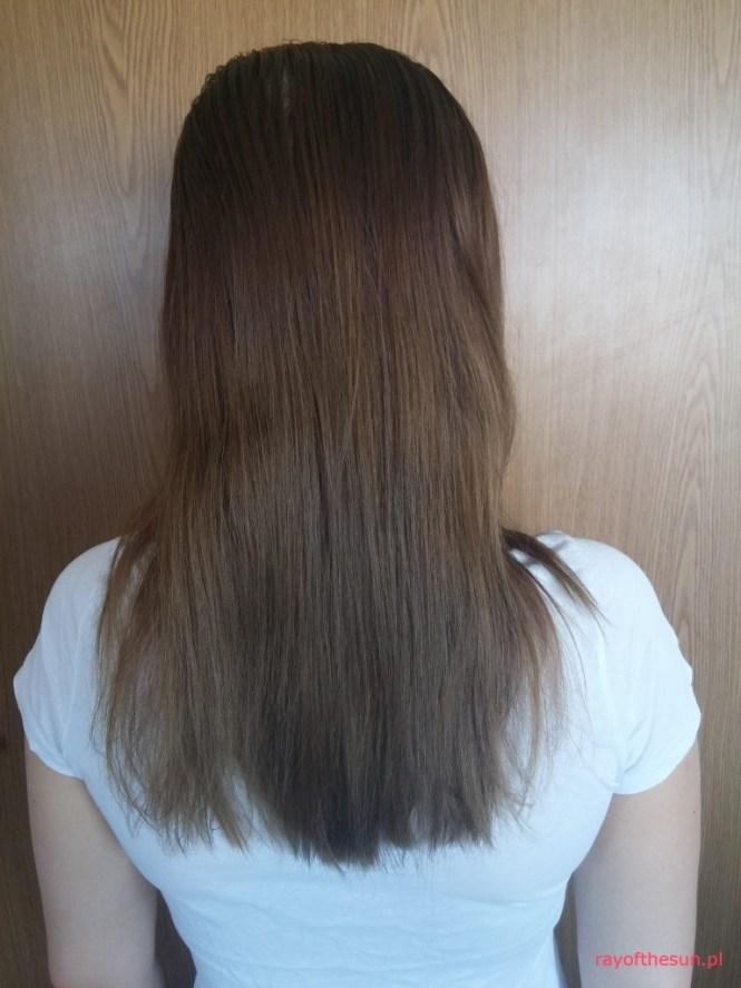Włosy przed kuracją