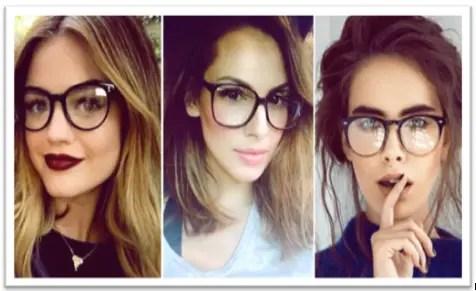 mecanismo Luminancia Cita  Peinados Y Cortes De Cabello Para Mujeres Con Lentes, Los Más Usados