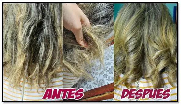 Tratamientos naturales para el cabello chicloso