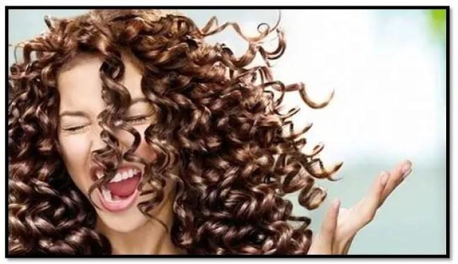 Maizena para el cabello rizado