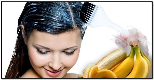 propiedades del plátano para el cabello