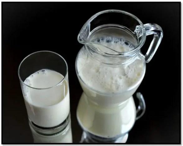 leche para el cabello