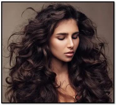 pelo fino y rizado