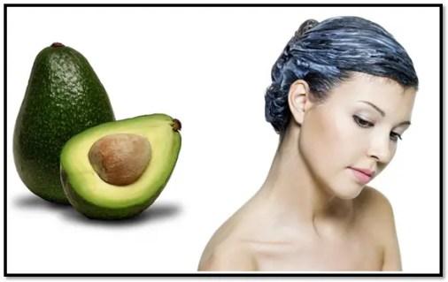 como aplicar aguacate en el cabello