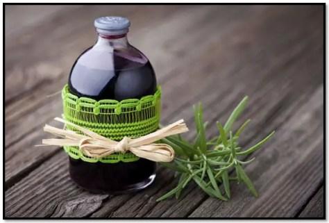 alcohol de romero para el pelo