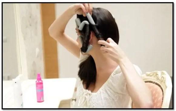boomerang para rizar el cabello