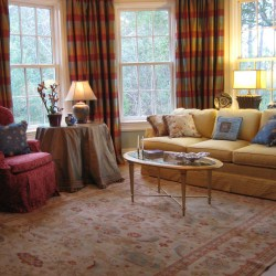 Living Room Curtain Ideas with Pretty Curtains for Living Room