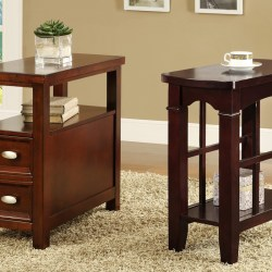 small wooden side tables with storage for traditional living room accent table