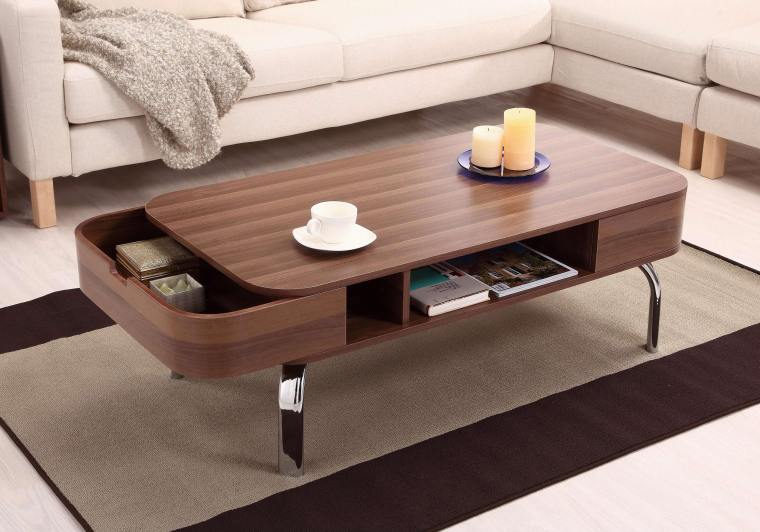 awsome wooden Ikea coffee table Uk with storage and metal legs