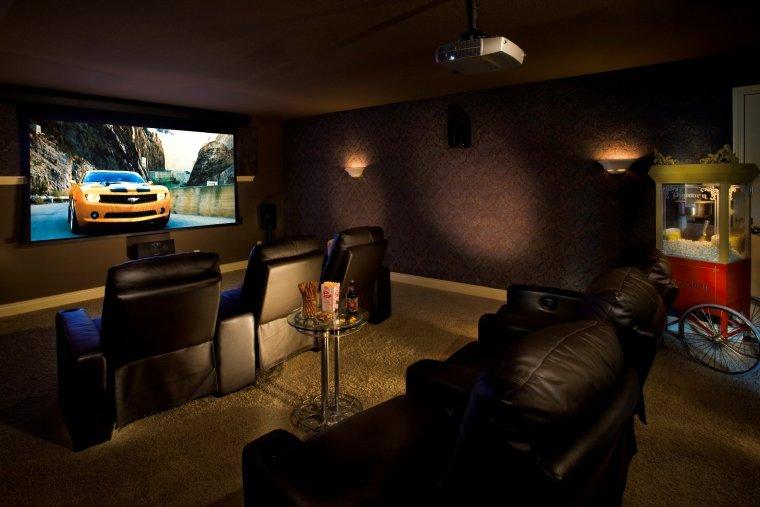 home theater decor ideas