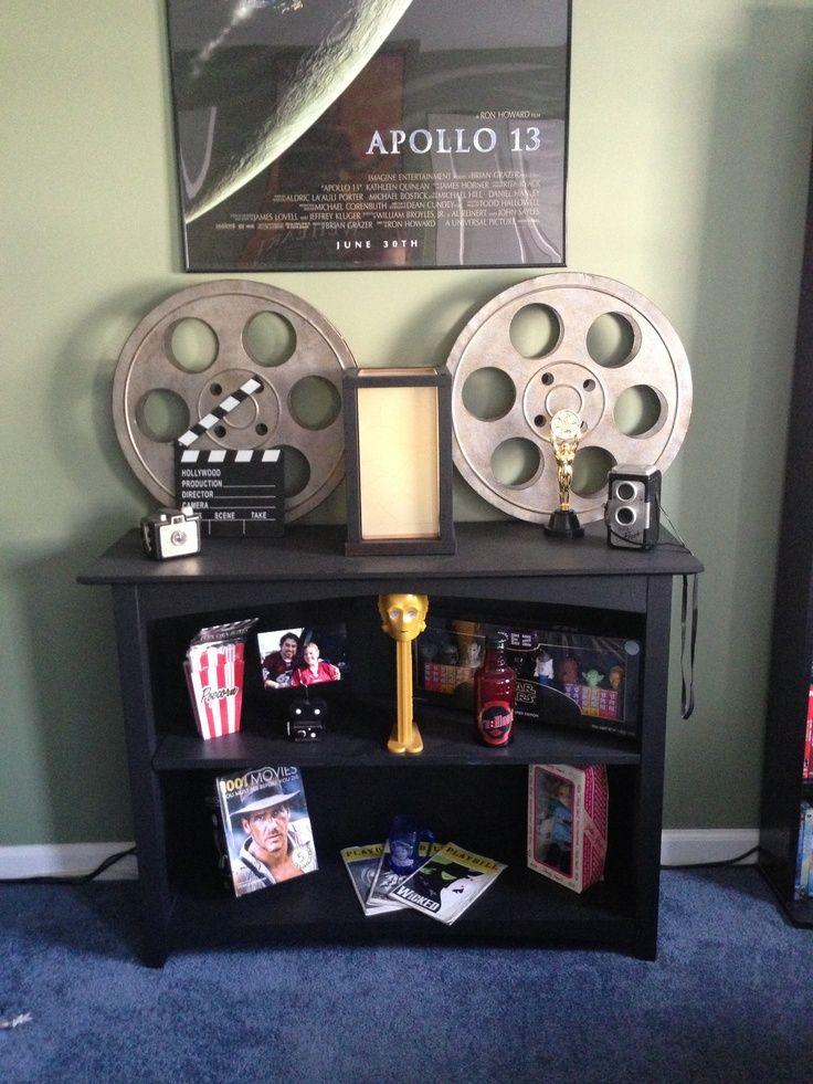 movie reel decor