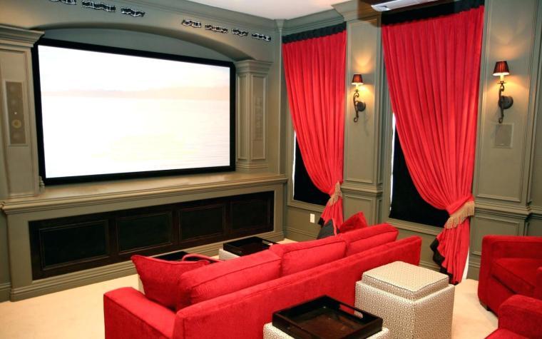 movie room decorating ideas
