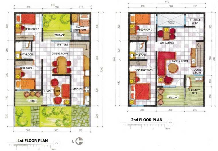 3 Small House Floor Plans Development That You Can't Learn From Books   Raysa House