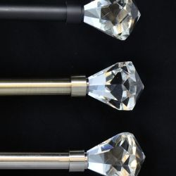Curtain Rods With Crystal Ends 18