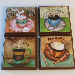 Simple Tips to Make Home Decoration in Coffee Themed