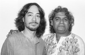 Ray Spiegel and Ramesh Mishra Woodstock, NY August 1997