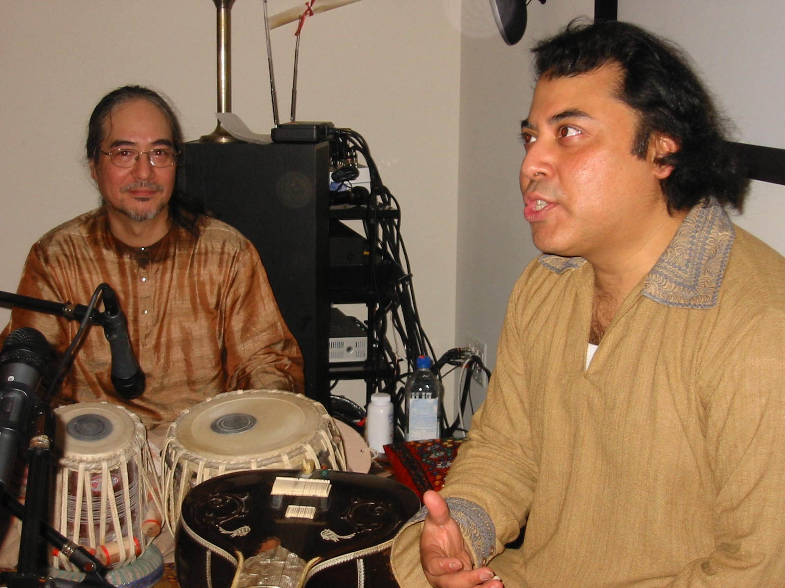 With Irshad Khan 2005