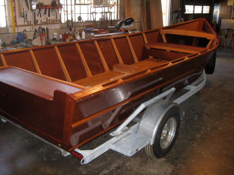 Willamette River Skiff Boat
