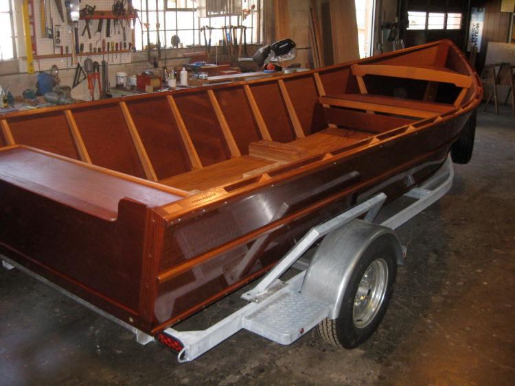 Wooden Skiffs & Dories